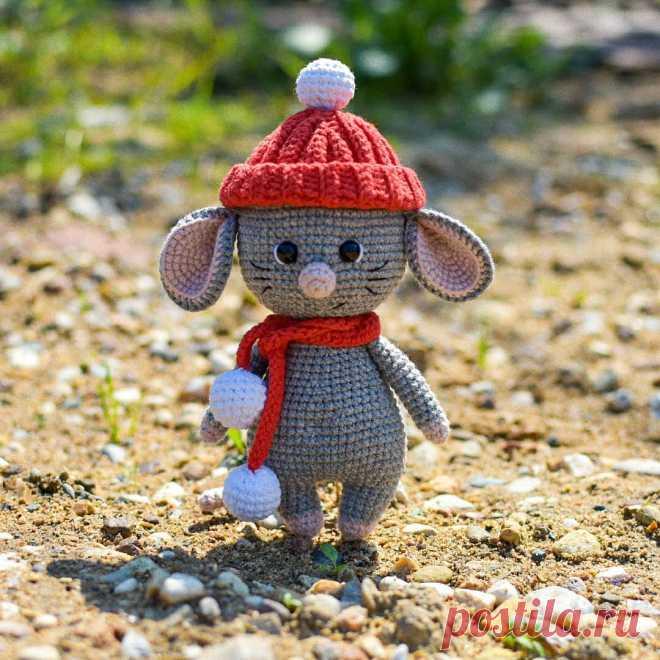 Мышонок Шуршик крючком | AmiguRoom