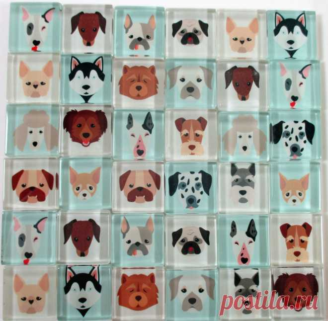 Mosaic Dog Tiles (Page 1) - Line.17QQ.com