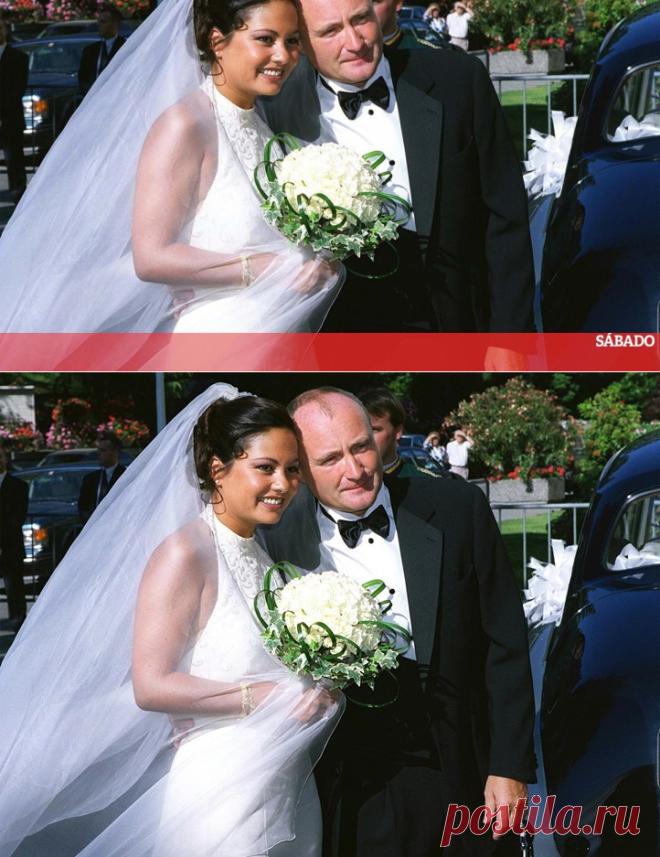 Phil Collins e a luta de milhões com a ex-mulher - Fotografias - SÁBADO