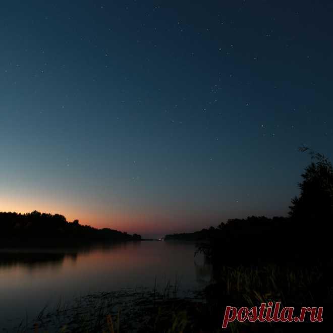 Ночная рыбалка, или почему не стоит оставлять снасти в воде, если решил вздремнуть!)