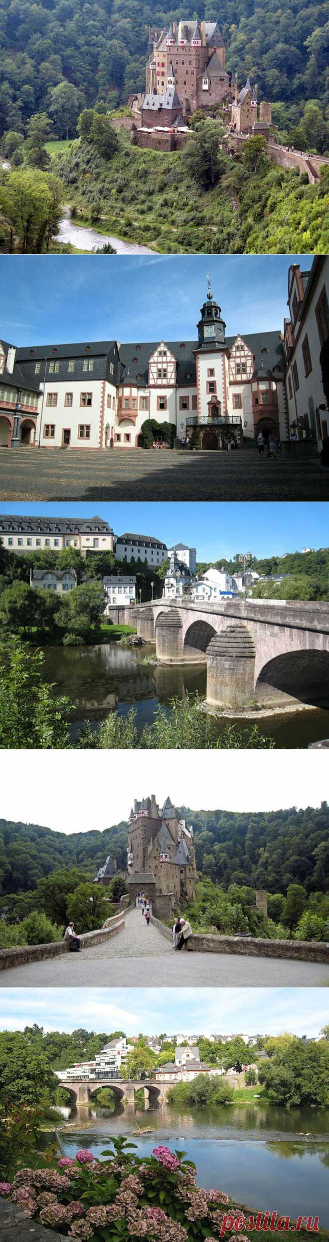 Германия. Eltz-Weilburg-Limburg.