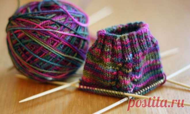 Knitting for all\u000d\u000aHow to knit a heel \
