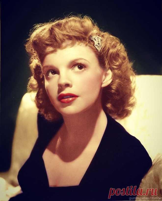 Джуди Гарлэнд (Judy Garland) - 10 июня, 1922 • 22 июня 1969