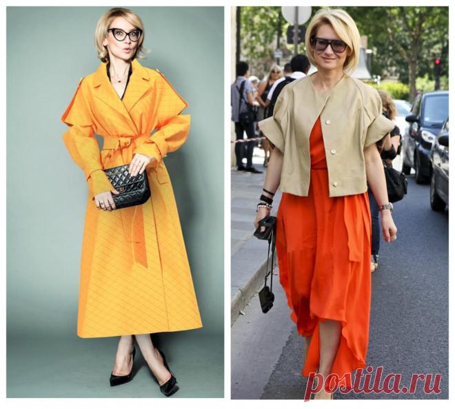 Почему в этом сезоне дамы выбирают одежду оранжевого цвета: Практический совет И снова здравствуйте, вы на канале «Школа стиля 50+». Просматривая новые подборки стильных образов, обратила внимание, что практически у каждого модного дизайнера, автора одежды, известного блогера или стилиста появились образы с одеждой оранжевого цвета. Фото 1 — журналист, телеведущая — эксперт в мире моды — Эвелина... Читай дальше на сайте. Жми подробнее ➡