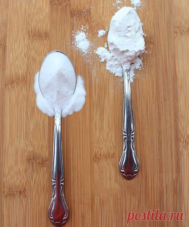 Разрыхлитель и сода: в чем разница?