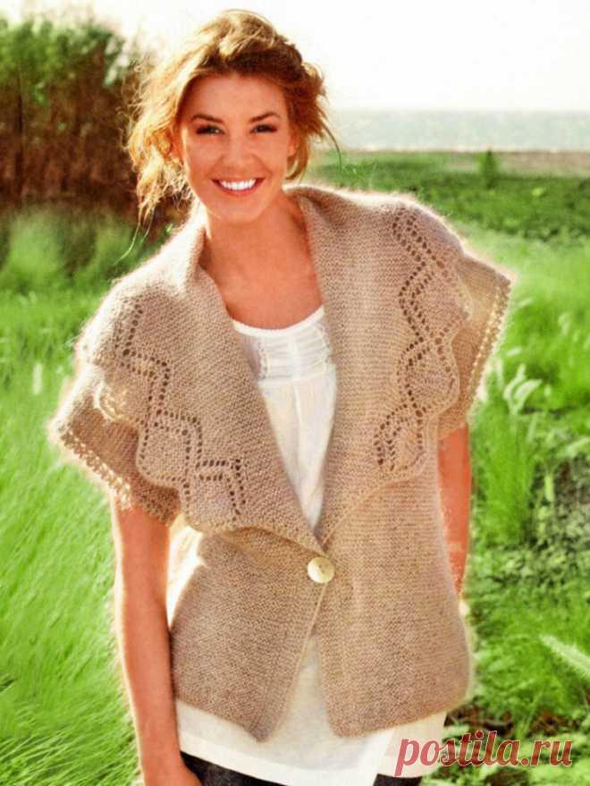 Вязание спицами для женщин пастила с описанием