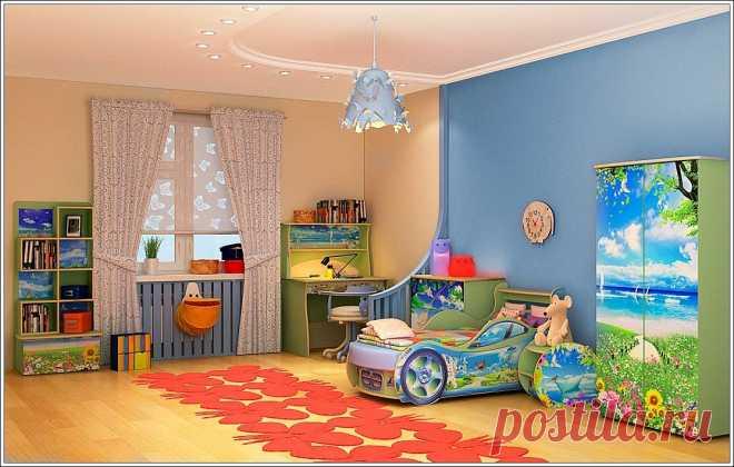 Дом и дети. Обустраиваем детскую комнату
