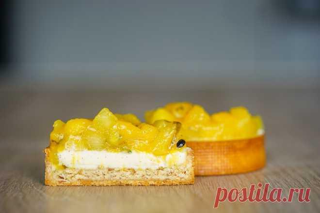 Tartelette mangue, ananas, passion et coco – Le Groumand