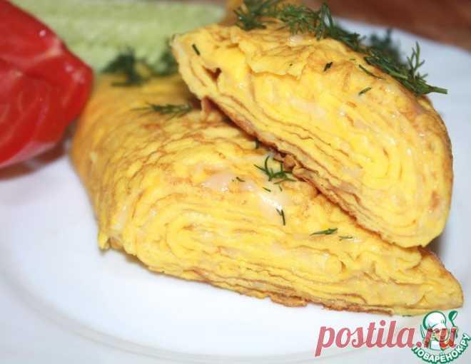 Омлет на завтрак – кулинарный рецепт