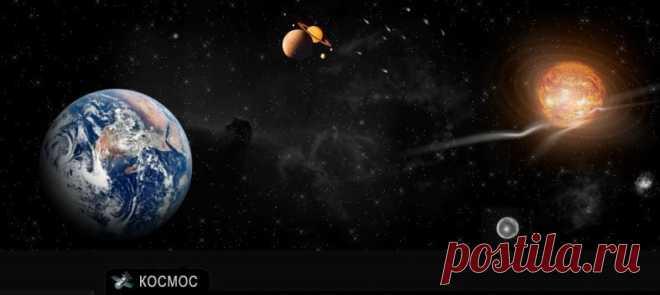 """Интернет-сайт """"Космос Онлайн"""": просмотр в режиме онлайн, видео, ответы на вопросы о происхождении галактики … Виды из космоса, история освоения космоса, фото НЛО и др. (используйте меню в левой части экрана)"""
