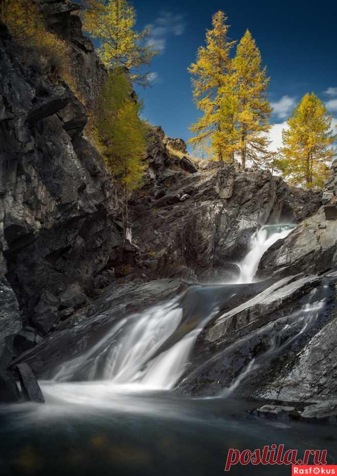 Фото: Водопады Кокоря. Пейзажный фотограф Дмитрий Антипов. Пейзаж - Фотосайт Расфокус.ру