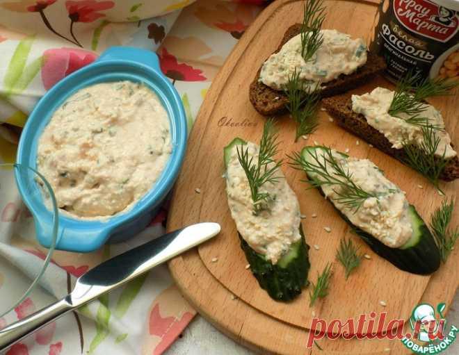 Рыбный рийет с фасолью и творогом – кулинарный рецепт
