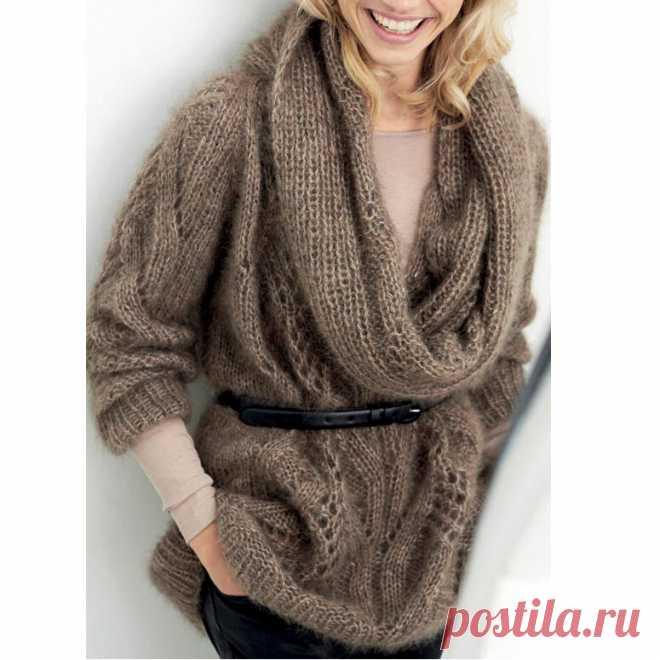 Готовимся к осени Вяжем из мохера пуловеры, туники, кардиганы | Всё лучшее - маме | Яндекс Дзен