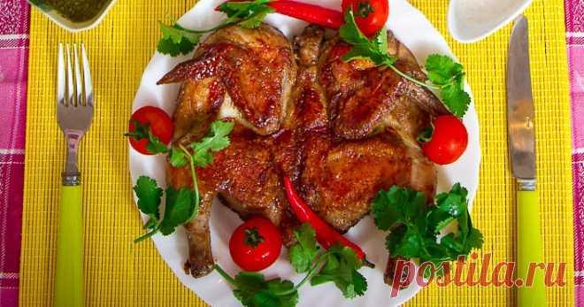 Цыпленок табака — рецепт вкусного грузинского блюда - Кейс советов