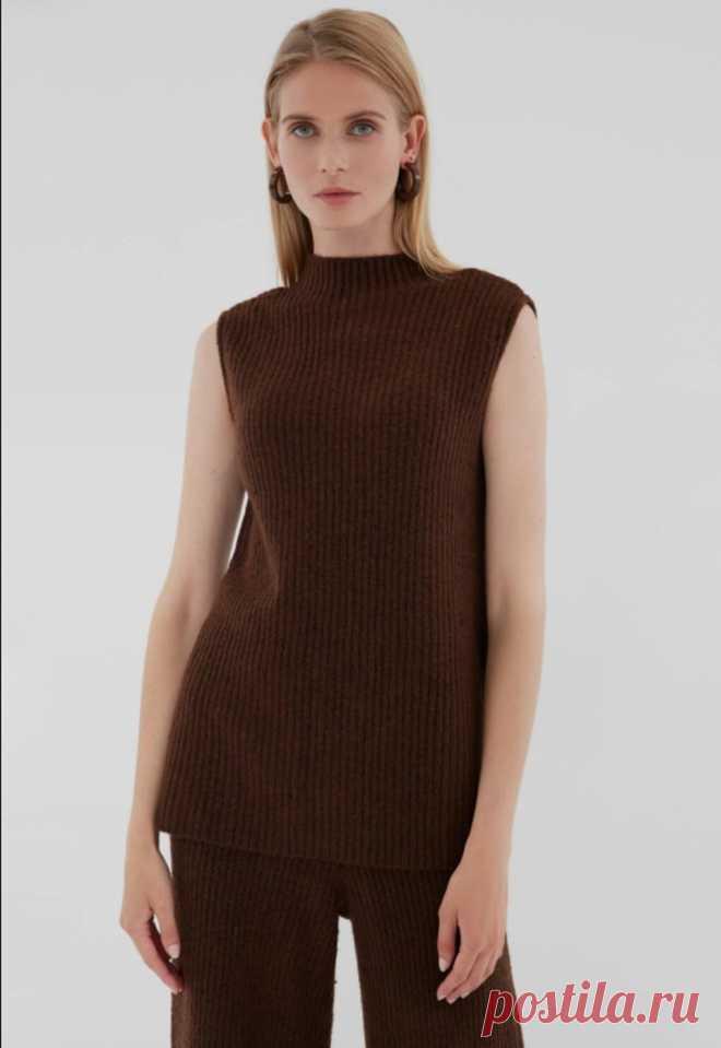 Вязаные женские жилетки 2021 – какие модели выбрать и с чем их носить