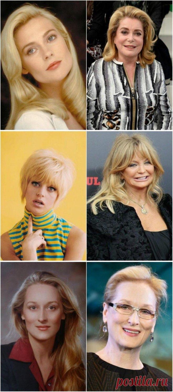 Интересно - Постаревшие звёзды: как выглядят знаменитые актрисы кино, которым за 60