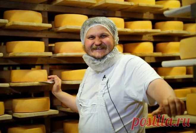Попробуйте йогурты от самого известного сыровара России