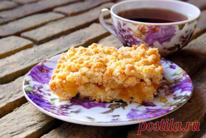 Пирог, от которого не останется даже крошки (буквально). Очень простой рецепт  и в тоже время очень вкусный.