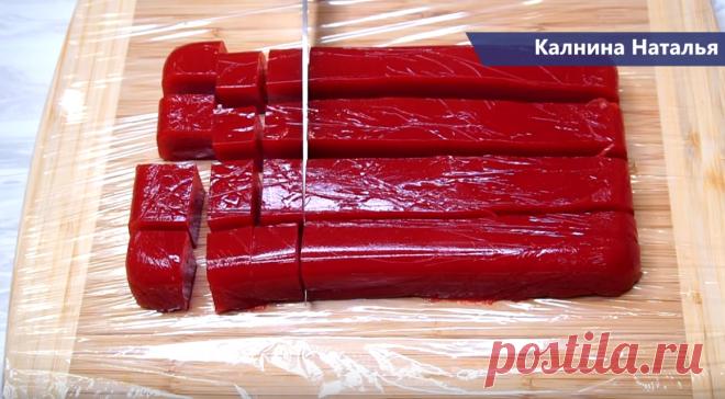 Беру 300 грамм любых ягод, подойдут замороженные и получаю целую гору мармелада | Готовим с Калниной Натальей | Яндекс Дзен