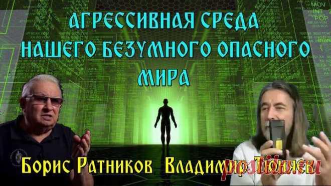 АГРЕССИВНАЯ СРЕДА НАШЕГО БЕЗУМНОГО ОПАСНОГО МИРА