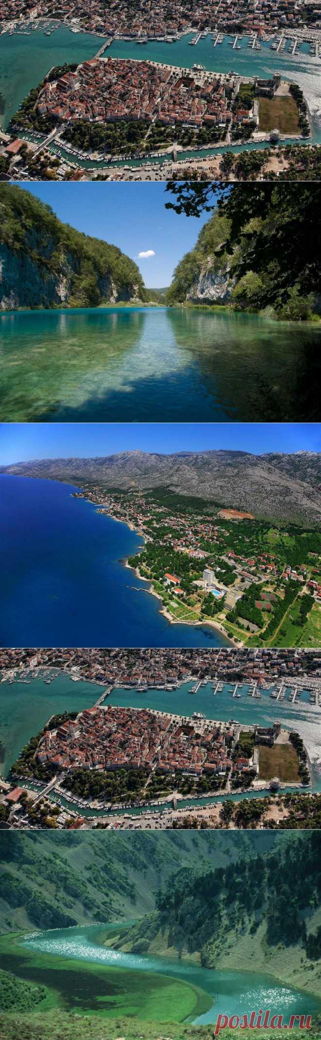 10 природных чудес Хорватии : НОВОСТИ В ФОТОГРАФИЯХ