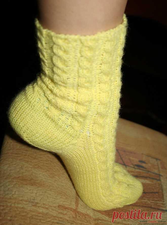 вязание оригинальных ажурных носков спицами схема вязания ажурных н