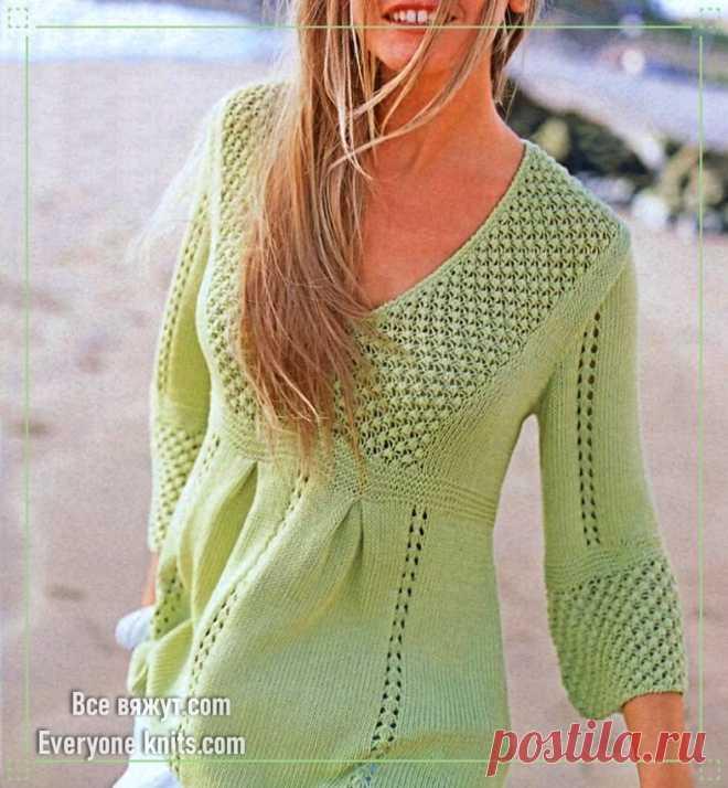 Пуловеры, туники, платья из немецких журналов. 20 новых моделей для вязания. | Все вяжут.соm/Everyone knits.com | Яндекс Дзен