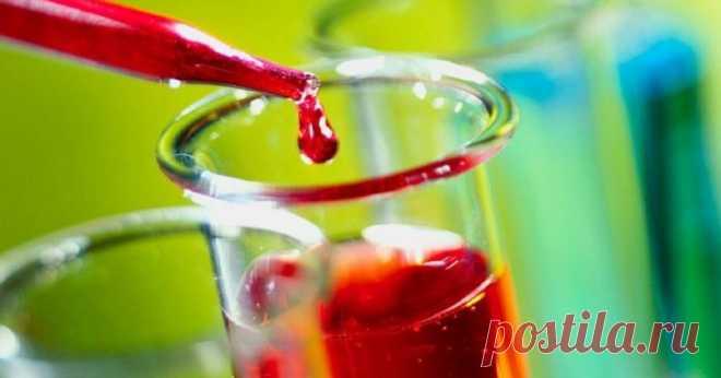 Los productos que aclaran la sangre