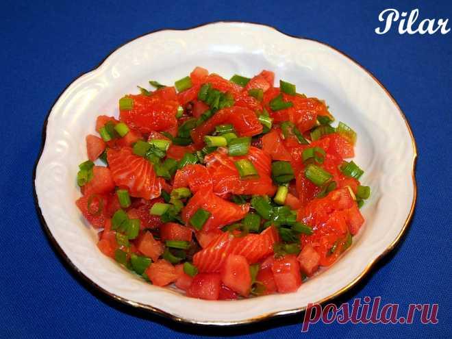 Ломи-ломи (Lomi-lomi salmon) - Гавайская кухня: p_i_l_a_r