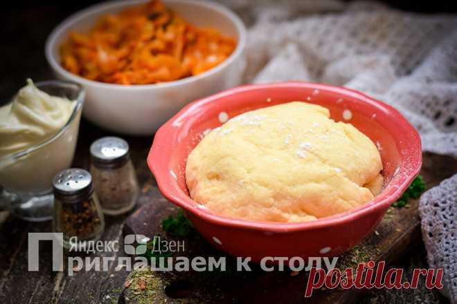 Замешиваю тесто на майонезе — пирожки не черствеют несколько дней | Приглашаем к столу | Яндекс Дзен