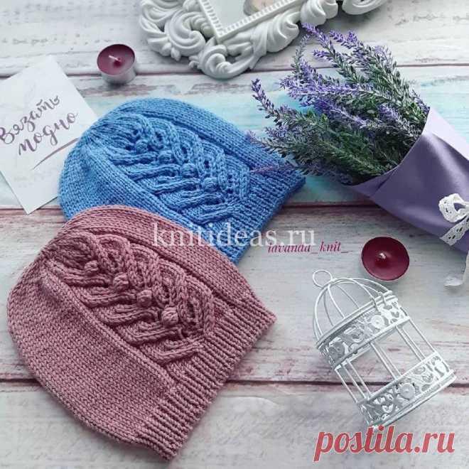 Детская шапочка «lovely spring» | | Вязаные       Идеи.