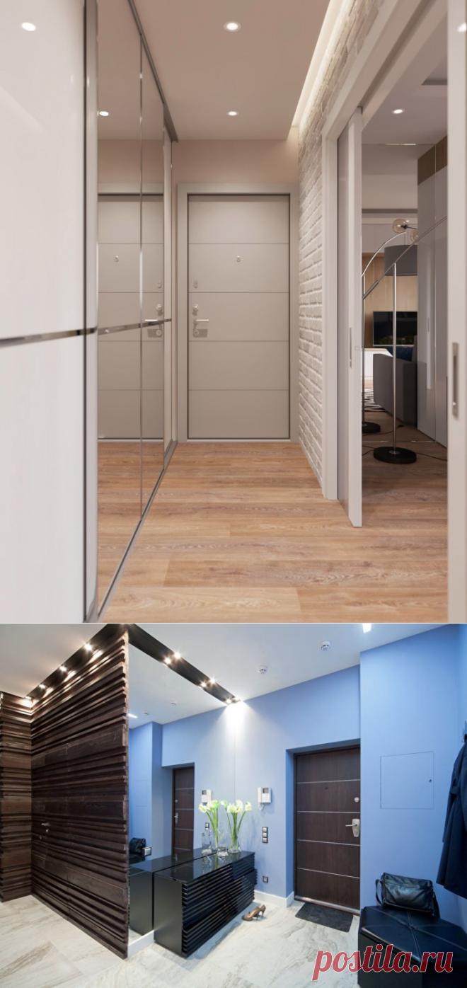 дизайн прихожей в квартире панельного дома 5