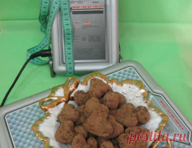 Конфеты для диеты – кулинарный рецепт