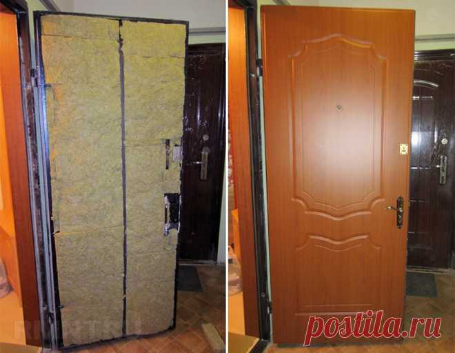 Как утеплить металлическую входную дверь RMNT.RU