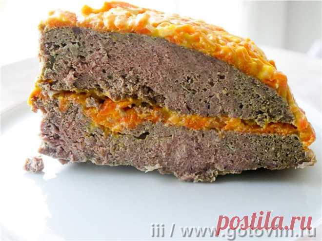 Паштет из свиной печени в микроволновке. Рецепт с фото Паштет из свиной печени в микроволновке - малобюджетный, физически малозатратный  рецепт. При тепловой обработке чувствуется характерный запах свиной печени, который по окончании приготовления паштета улетучивается и остаётся только пикантный вкус печенки. Готовый печеночный паштет можно подавать в виде закусочного торта или как бутерброд, отрезая по кусочку и укладывая на хлеб с маслом.