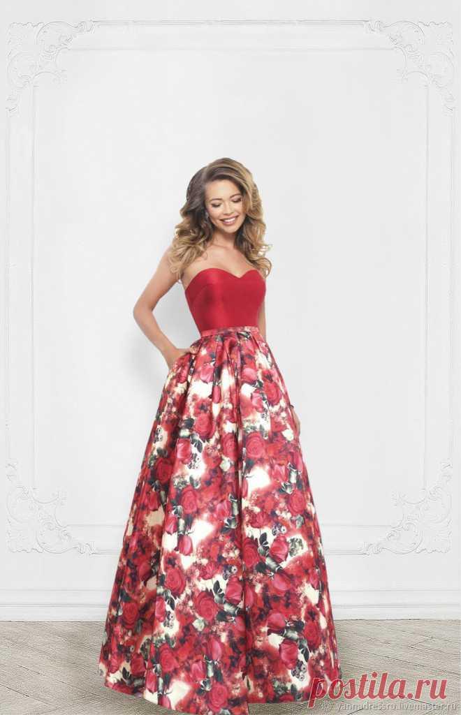 d86bf4ff2ae Шикарное платье на выпускной Midnight City - Red Rose – купить в интернет- магазине на