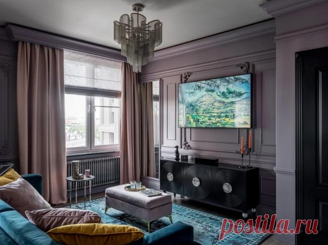 """Как грамотно выбрать материал, цвет и размер штор для интерьера? 5 решающих факторов   Ремонт квартир и дизайн интерьеров """"БлагоДать""""   Яндекс Дзен"""