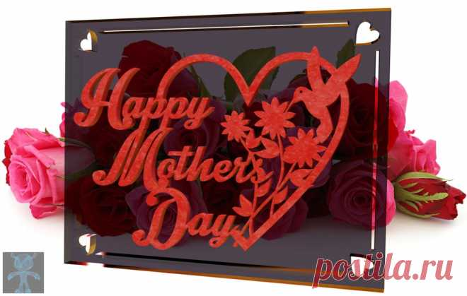 Happy Mother's Day! - SketchUp,Parasolid,SOLIDWORKS,OBJ,Autodesk 3ds