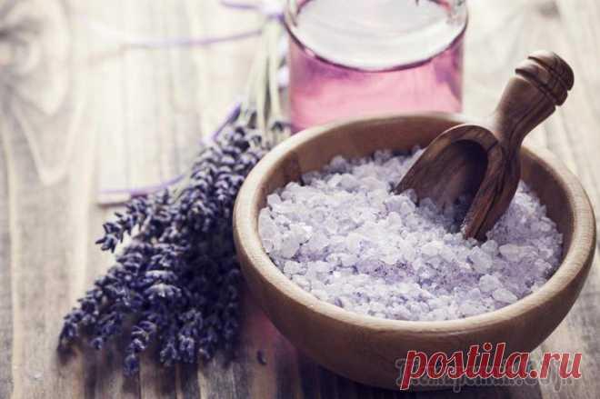 Процедуры и рецепты средств с солью от растяжек