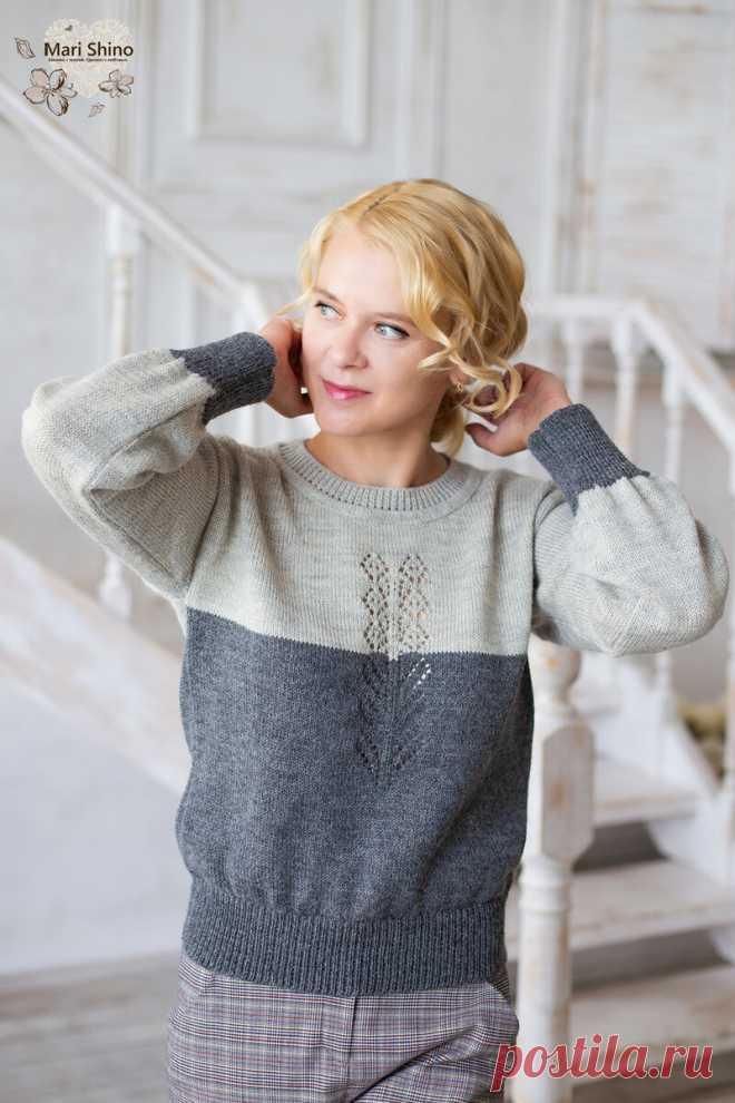 Вязаные свитера. Трендовые модели для себя любимой | Марина Тарнакина, вяжу на машине | Яндекс Дзен