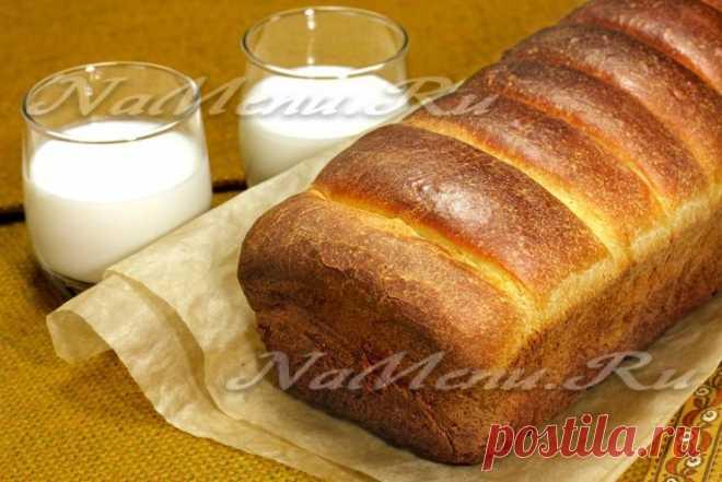 Сдобный хлеб на молоке