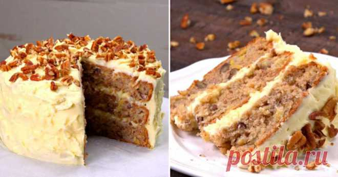 Как приготовить удивительный торт «Колибри»: коржи на растительном масле, а в составе больше фруктов, чем муки!