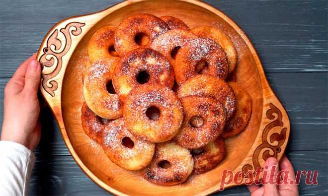 Творожные пончики на сковороде | Рецепты на SuperKuhen.ru