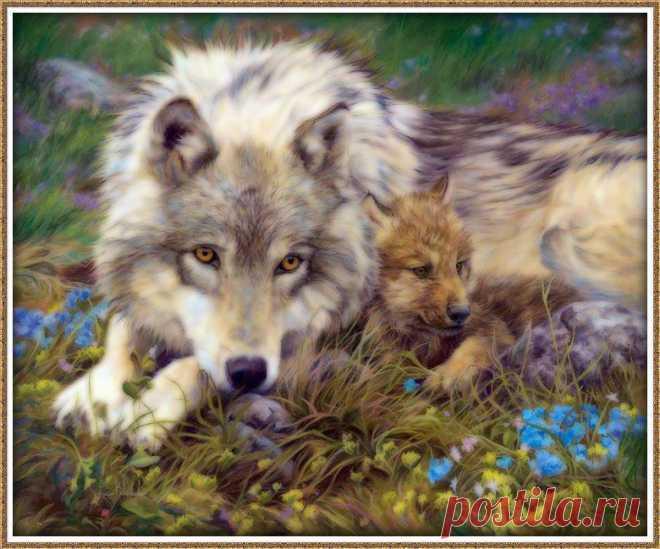 Сын и мать