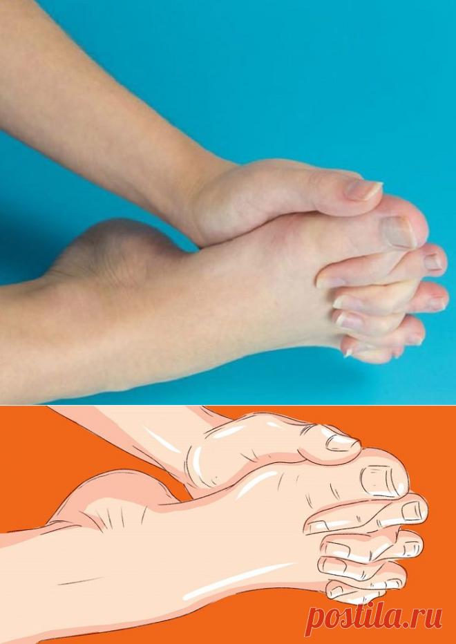Упражнение — переплетение пальцев, которое поможет вернуть молодость и подвижность ног