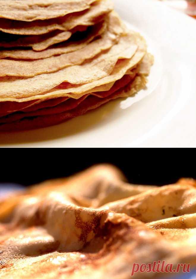 Из Сербии с любовью - Crepes сладкие или французский вариант блинчиков (Crepes Suzette).
