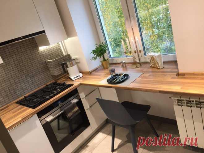 Кухня 5 кв. | Архитектурный журнал ADCity