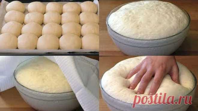 Как приготовить быстрое дрожжевое тесто на воде без яиц - HeadInsider