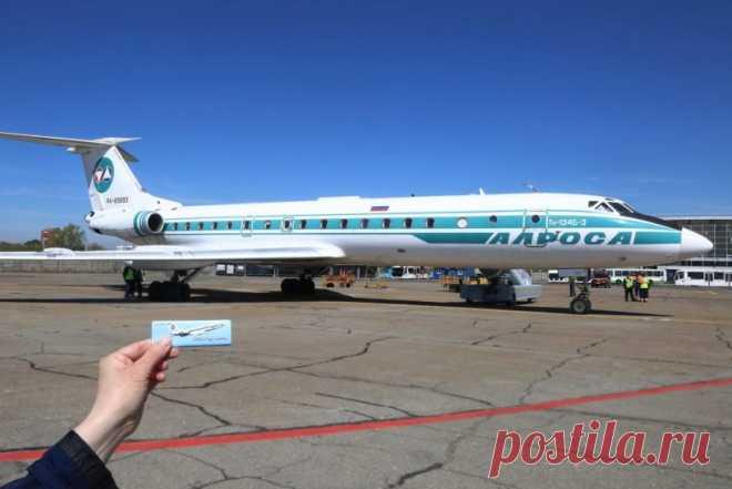 Ту-134 вылетел в свой последний рейс из Иркутска. 22 мая состоится его последний полет в России Ту-134Б летал в небе с 1980 года, то есть почти 40 летСегодня, 20 мая, вылетел в свой последний рейс из Иркутска легендарный самолет Ту-134Б авиакомпании