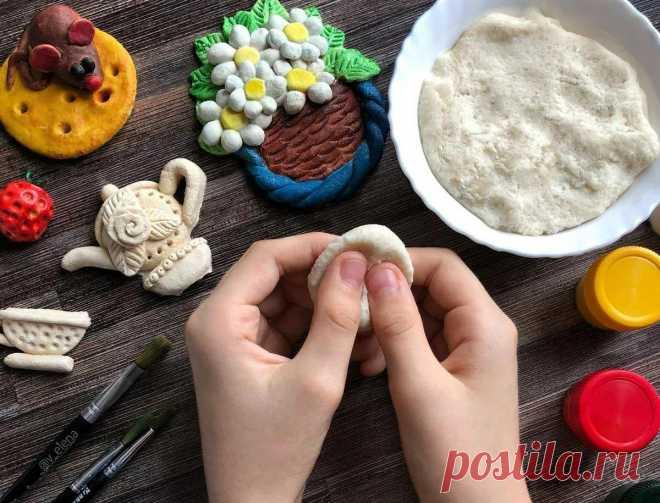 4 рецепта соленого теста и мастер-класс по лепке барашка » Женский Мир